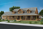 Vacation House Plan Front of Home - 088D-0445 | House Plans and More