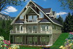 Craftsman House Plan Front of Home - 088D-0541 | House Plans and More