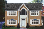 Two-Story Home Combines Georgian And Greek Revival Details
