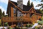A-Frame Rustic Style Makes This The Perfect Vacation Home