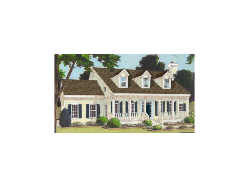 Traditional House Plan Front of Home - 089D-0079 | House Plans and More
