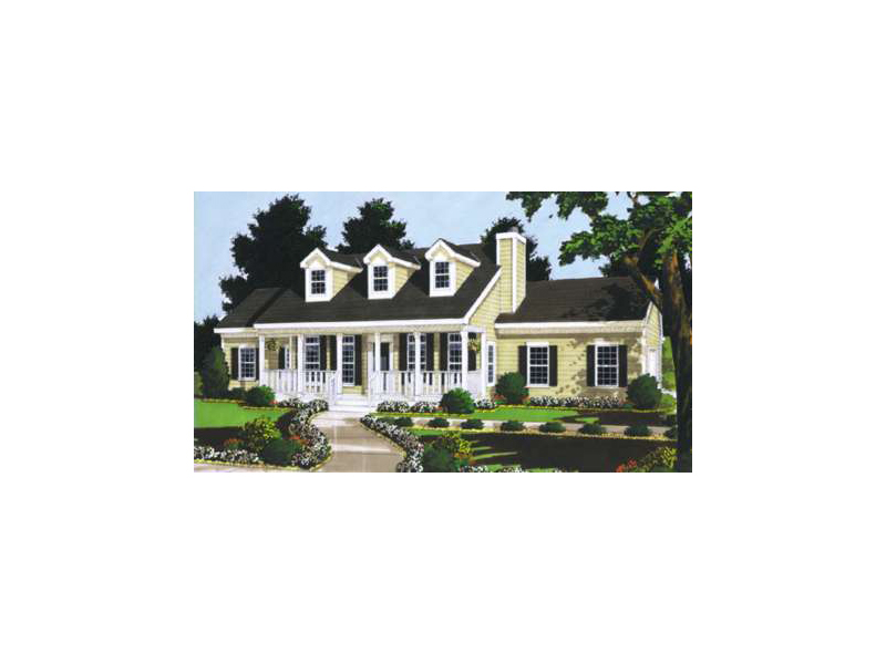 Comforting Cape Cod/New England Plan