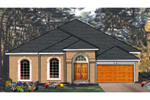 Comtemporary Design With Elaborate Arched Entry And Round Top Windows