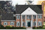 Formal Southern Plantation Design With Powerful Front Columns