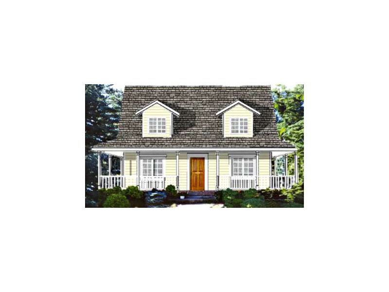 Bright Acadian Design With Wrap-Around Porch