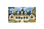 Symmetrical Southern Design With Cape Cod/New England Style