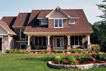 Stone Enhances The Exterior Of This Home