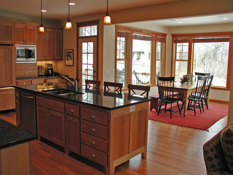 Traditional House Plan Kitchen Photo 02 091D-0017