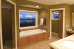 Acadian House Plan Bathroom Photo 01 - 091D-0021 | House Plans and More