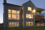 Acadian House Plan Rear Photo 01 - 091D-0021 | House Plans and More