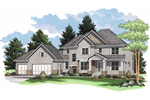 Great Country Craftsman Style Home Design