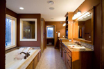 Colonial House Plan Bathroom Photo 01 - 091D-0027 | House Plans and More