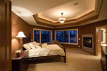 Colonial Floor Plan Bedroom Photo 01 - 091D-0027 | House Plans and More