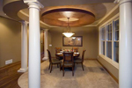 Colonial House Plan Dining Room Photo 01 - 091D-0027 | House Plans and More