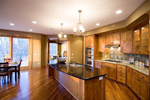 Colonial House Plan Kitchen Photo 01 - 091D-0027 | House Plans and More