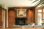 Sunbelt Home Plan Fireplace Photo 01 - 091D-0028 | House Plans and More