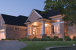 Sunbelt Home Plan Front Photo 03 - 091D-0028 | House Plans and More