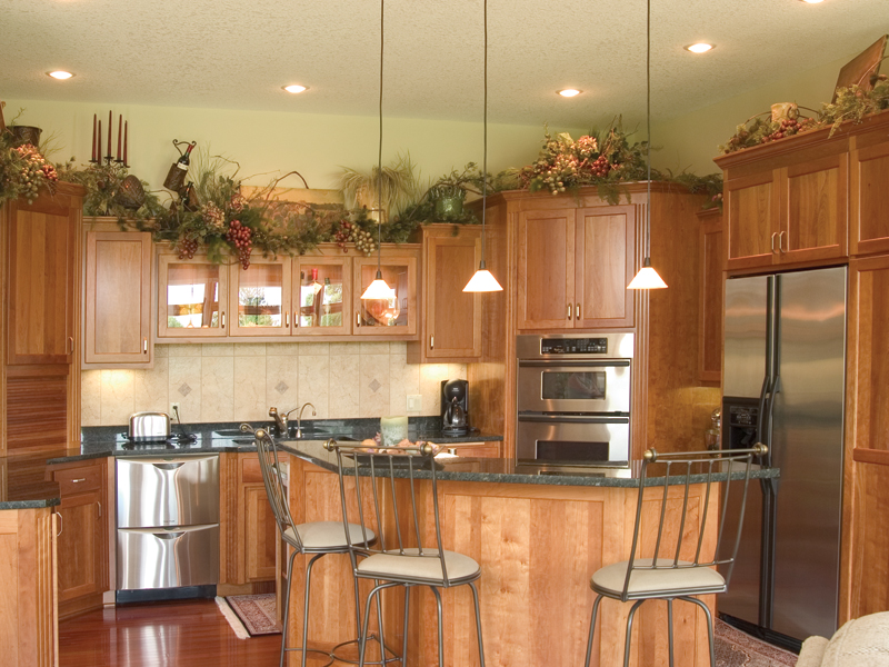 Ranch House Plan Kitchen Photo 01 091D-0028
