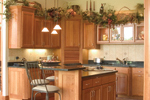 Sunbelt Home Plan Kitchen Photo 02 - 091D-0028 | House Plans and More