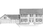 Splendid Early American Two-Story House 