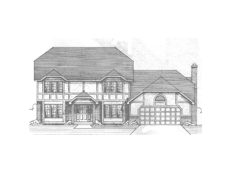 Striking English Tudor Style House Design