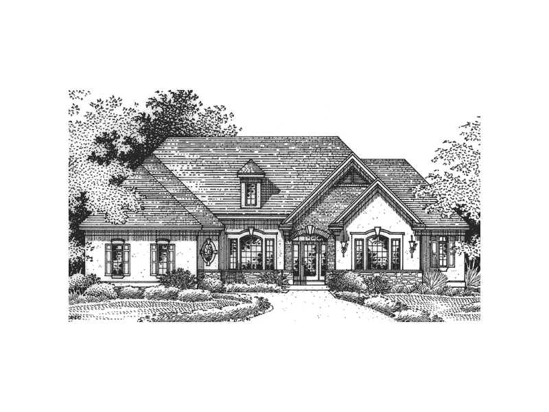 Carberry manor european home plan 091d 0243 house plans for European manor house plans