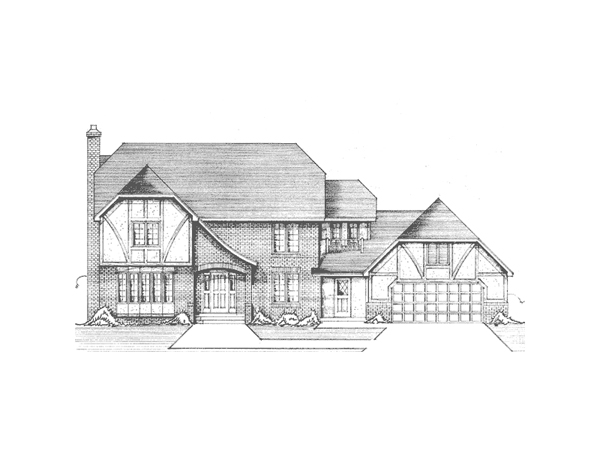 Highlands Tudor Manor - Floor Plans
