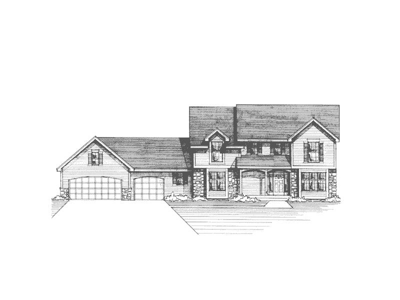 Craftsman Farmhouse With Tudor Affection