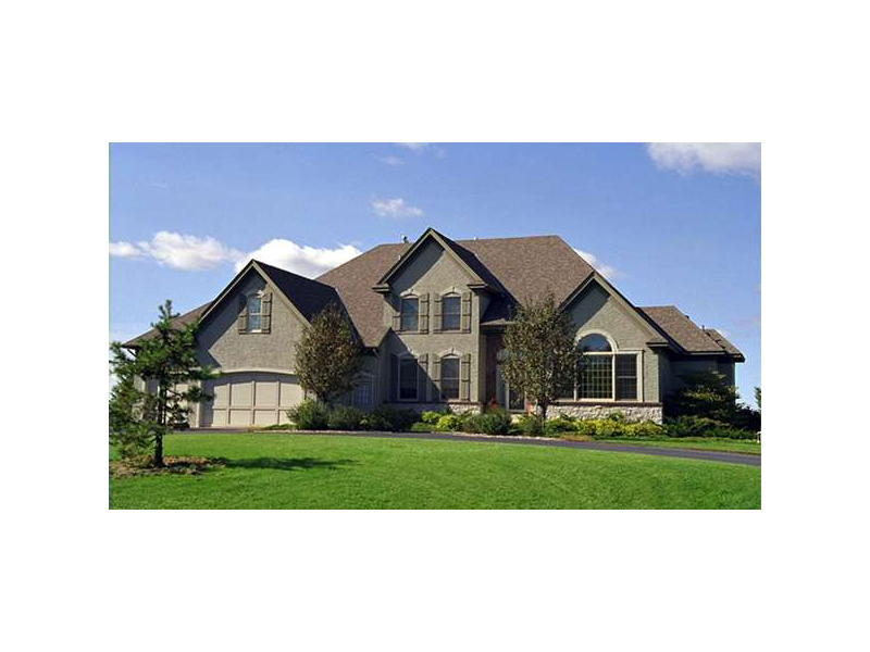 European House Plan Front of Home - 091D-0327 | House Plans and More