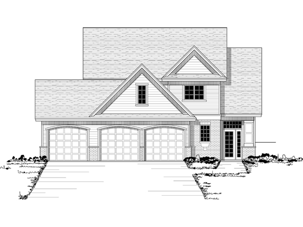 Hermitage haven two story home plan 091d 0393 house plans and more How to draw a house plan