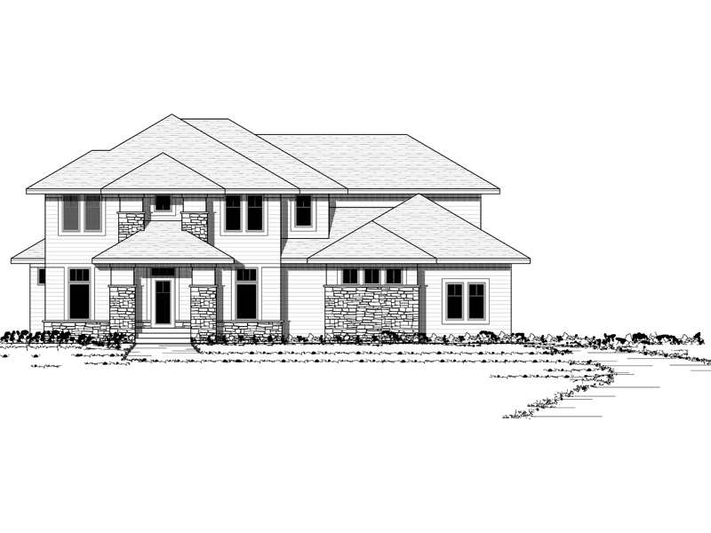 Contemporary Country Home With Prairie Influence
