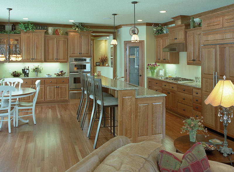 Colonial House Plan Kitchen Photo 01 091D-0436