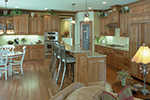 Colonial Floor Plan Kitchen Photo 01 - 091D-0436 | House Plans and More
