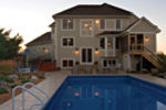 Colonial House Plan Pool Photo - 091D-0436 | House Plans and More