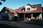 Two-Story Home Display Craftsman Style Characteristics