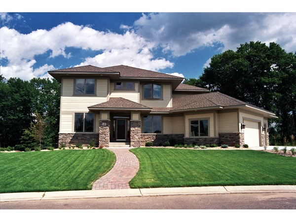 Mulhouse Prairie Style Home Plan 091d 0445 House Plans
