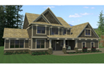 Simple And Functional Two-Story With Subtle Craftsman Style
