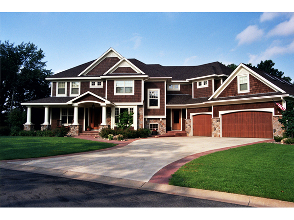 House plans and design house plans two story craftsman for Craftsman house plans