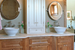 Country French Home Plan Bathroom Photo 01 - 091D-0470 | House Plans and More