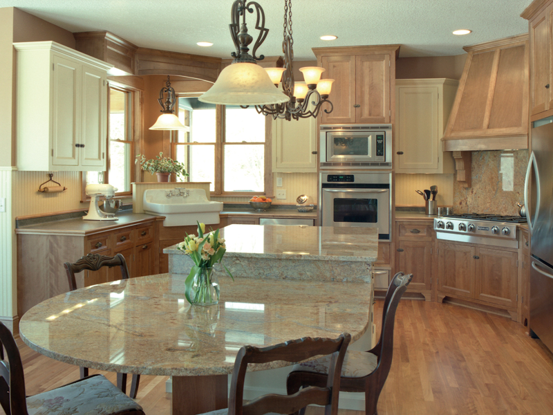 Traditional House Plan Kitchen Photo 01 091D-0470
