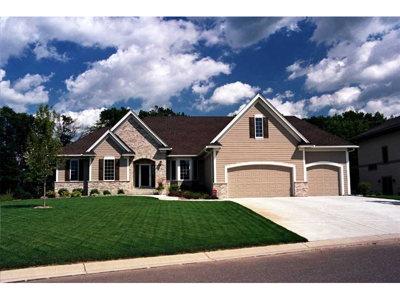 Luxury All Brick Ranch Home