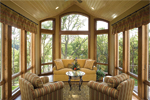 Craftsman House Plan Family Room Photo 02 - 091D-0476 | House Plans and More