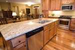 Ranch House Plan Kitchen Photo 02 - 091D-0485 | House Plans and More