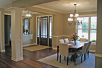 Arts and Crafts House Plan Dining Room Photo 01 - 091D-0489 | House Plans and More