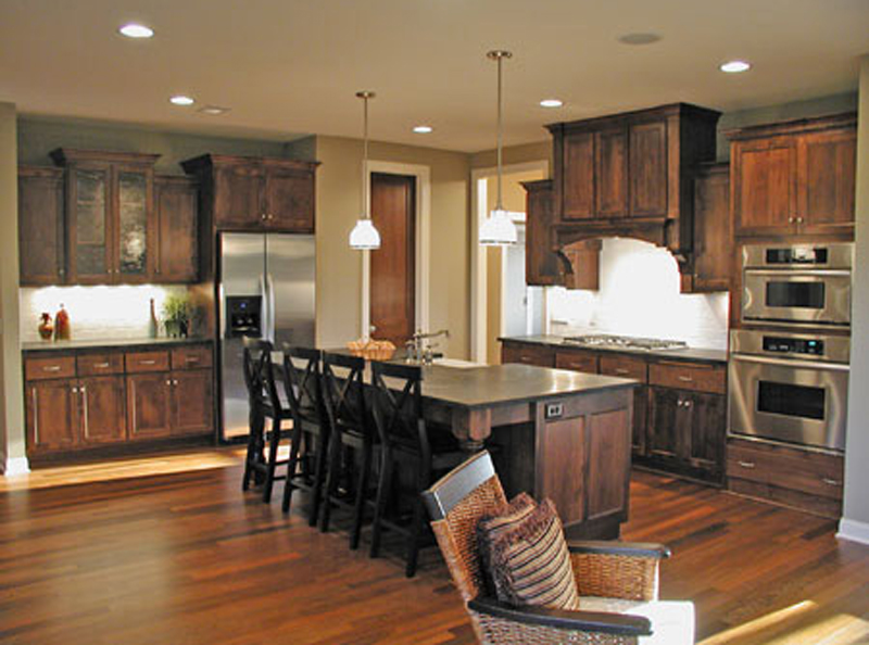 Arts and Crafts House Plan Kitchen Photo 01 091D-0489