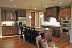 Ranch House Plan Kitchen Photo 01 - 091D-0489 | House Plans and More
