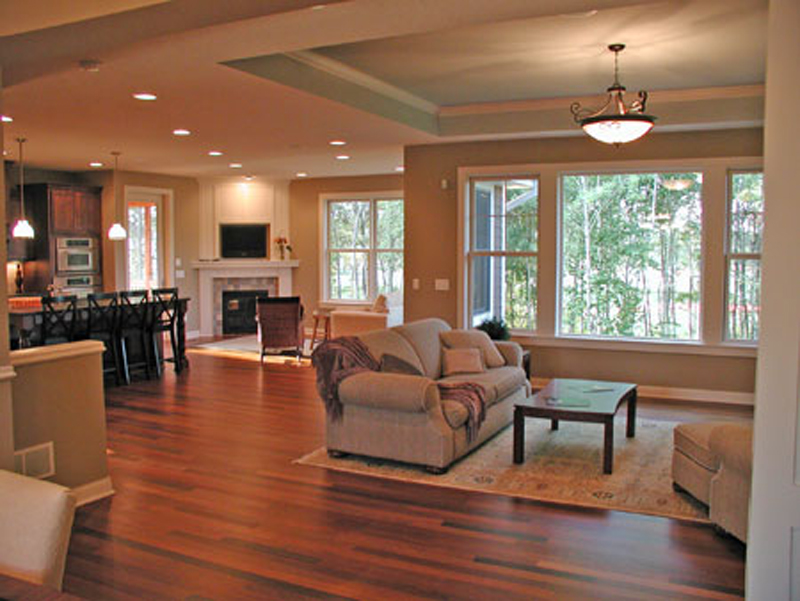 Craftsman House Plan Living Room Photo 02 091D-0489