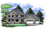 Craftsman Country Home Perfect For Cedar Shingles