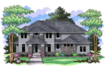 Contemporary Prairie Home Demands Luxurious Attention