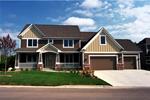 Craftsman Country Home Has Tudor Influence